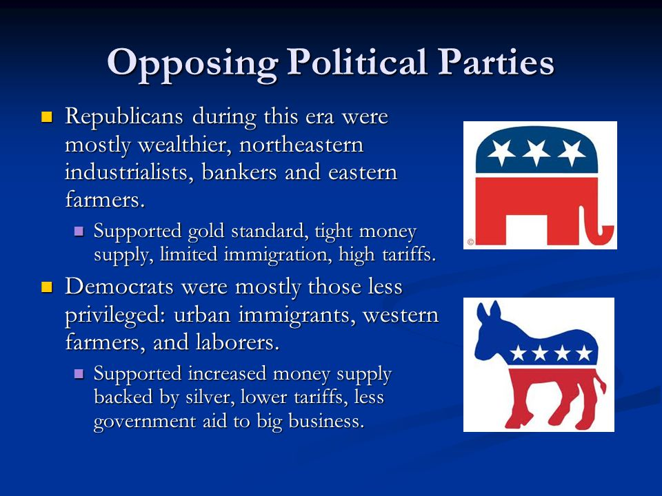 Opposing Political Parties