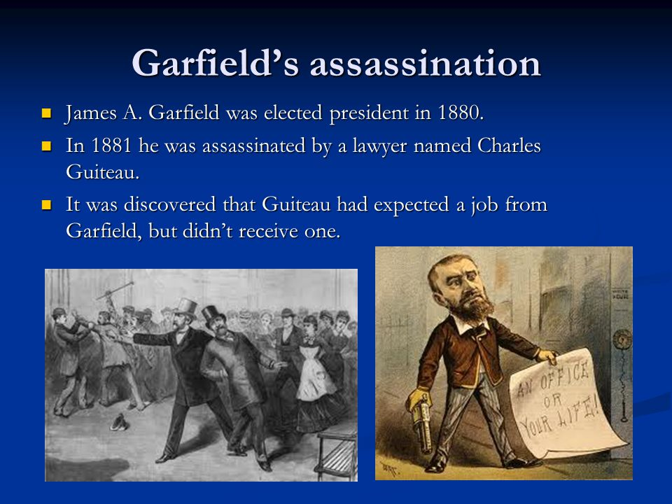 Garfield's assassination
