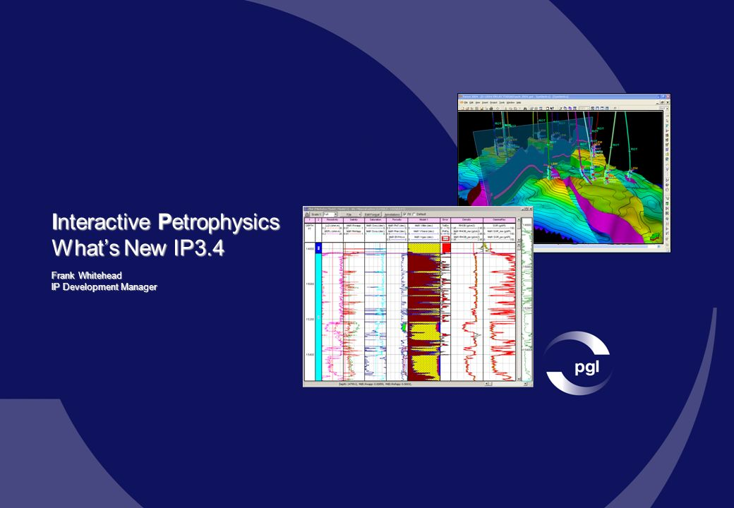 Interactive Petrophysics What's New IP3.4