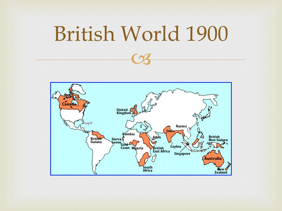 British World 1900