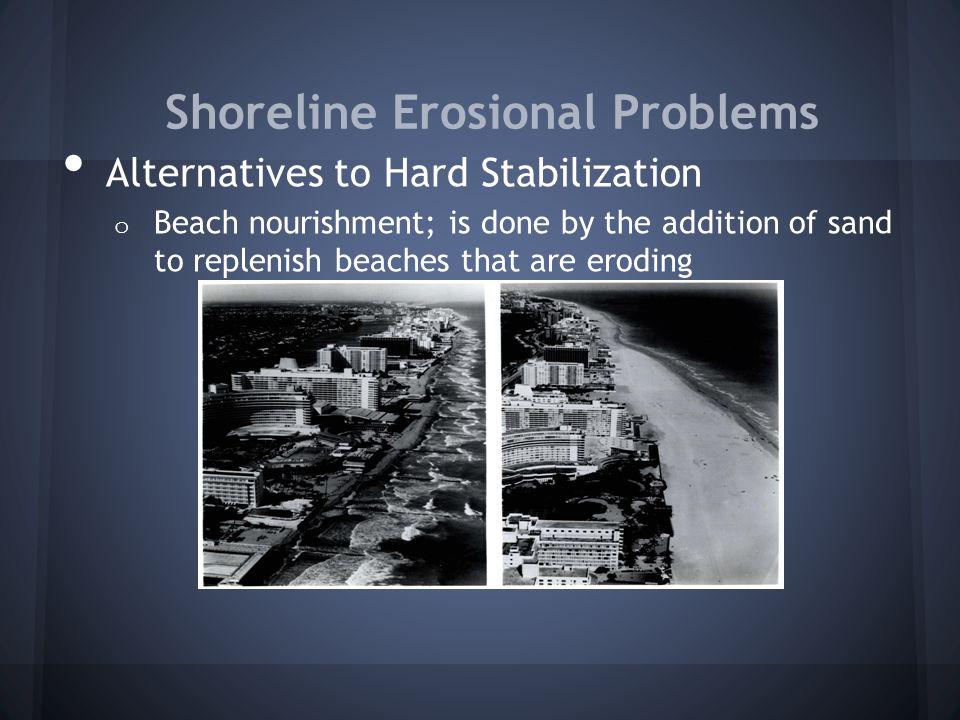 Shoreline Erosional Problems