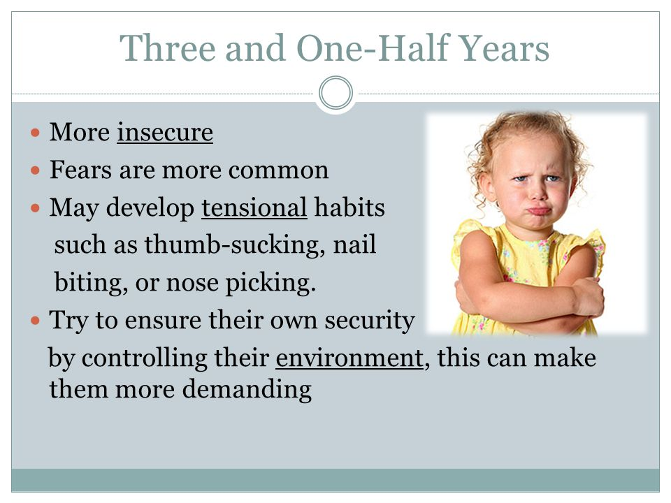 Three and One-Half Years