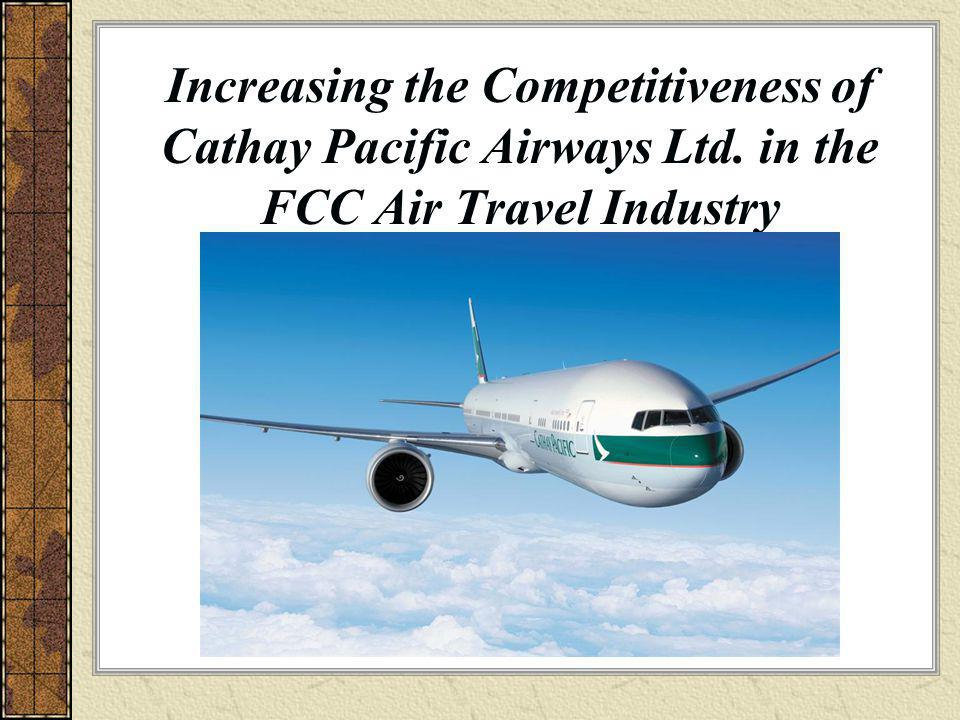Increasing the Competitiveness of Cathay Pacific Airways Ltd