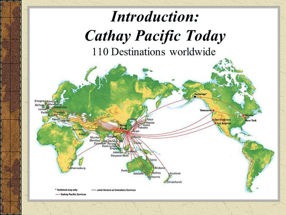 Introduction: Cathay Pacific Today