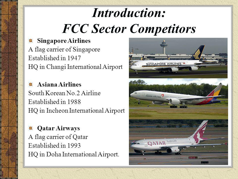 Introduction: FCC Sector Competitors
