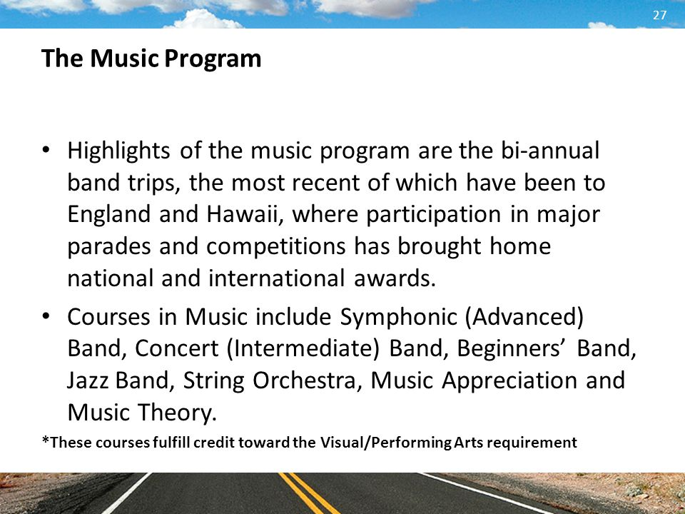 The Music Program