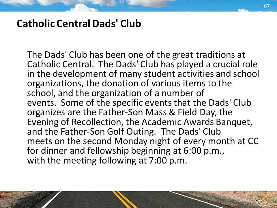 Catholic Central Dads Club