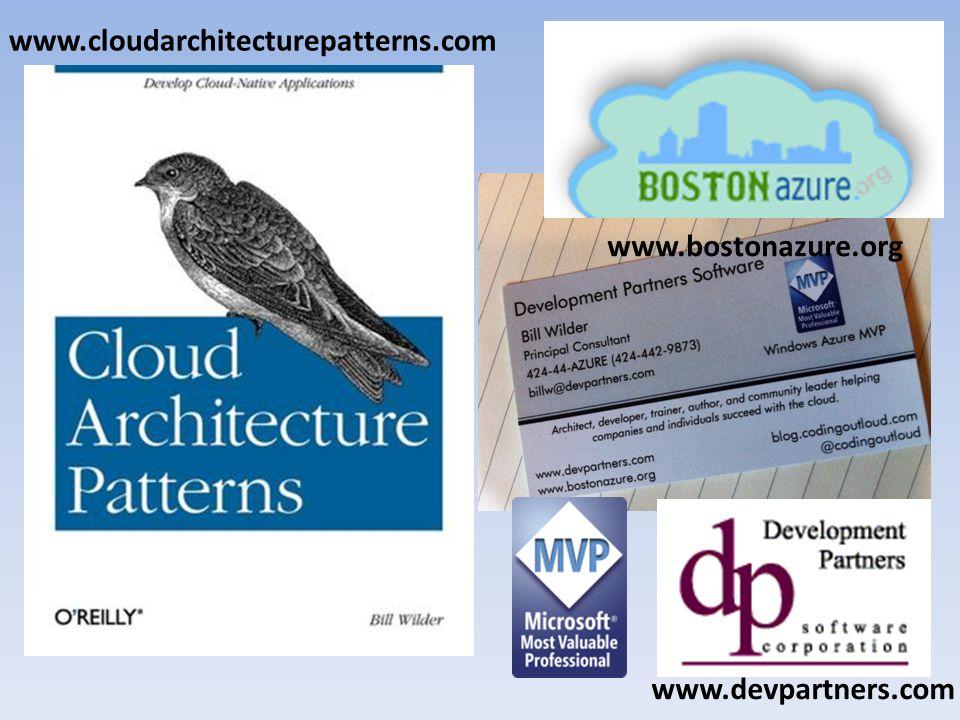 Who is Bill Wilder www.cloudarchitecturepatterns.com