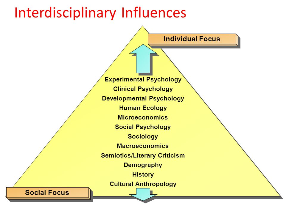 Interdisciplinary Influences