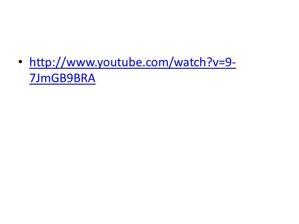 http://www.youtube.com/watch v=9-7JmGB9BRA