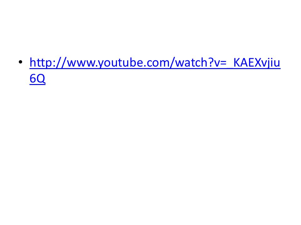 http://www.youtube.com/watch v=_KAEXvjiu6Q