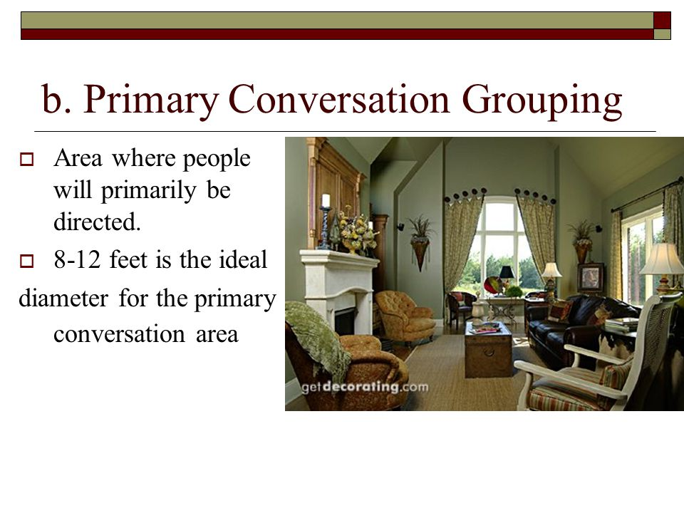 b. Primary Conversation Grouping