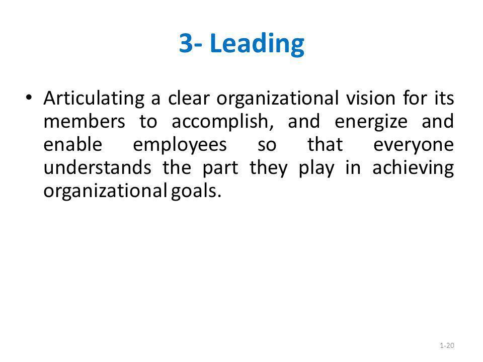 3- Leading