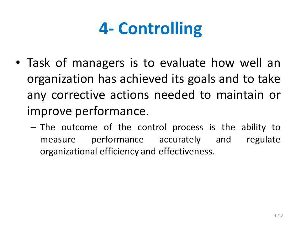 4- Controlling
