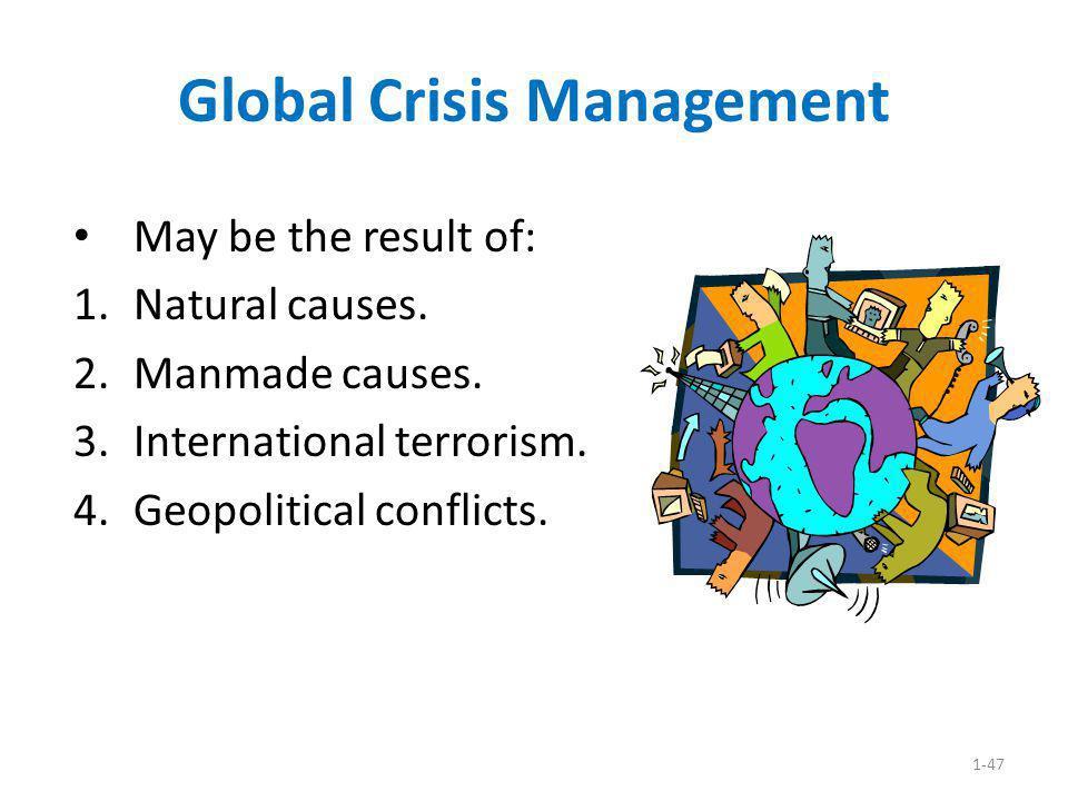 Global Crisis Management