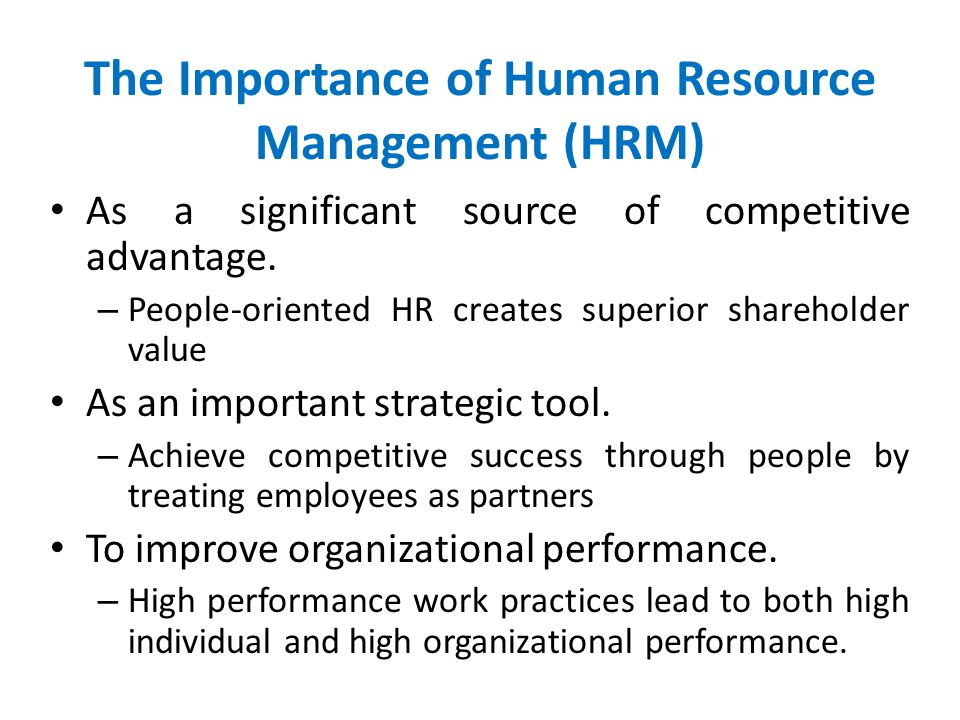 strategic hr practices and organizational performance Answer specifically the question of how strategic hrm practices have   organizational performance has been subject to great interest to both  practitioners and.