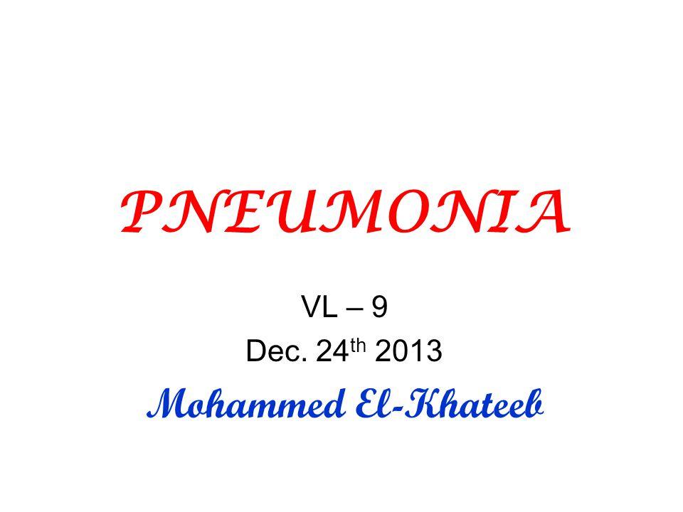 VL – 9 Dec. 24th 2013 Mohammed El-Khateeb