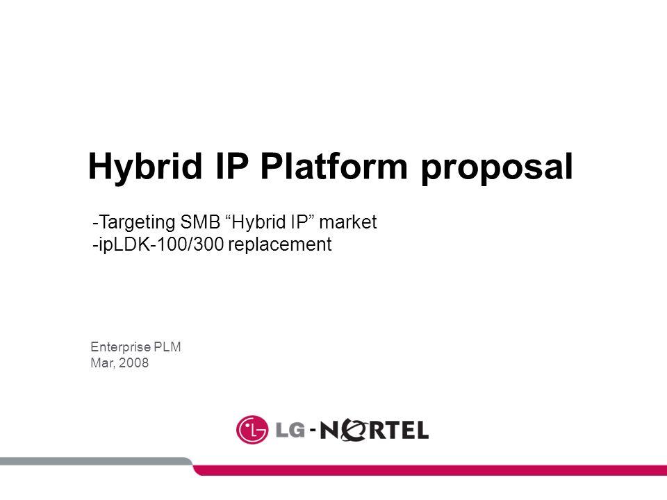 Hybrid IP Platform proposal