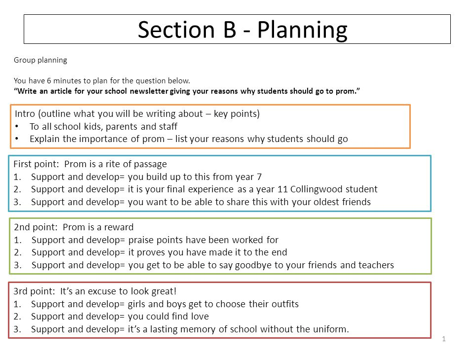 How-to Write A Plan for Our Educational Presentation