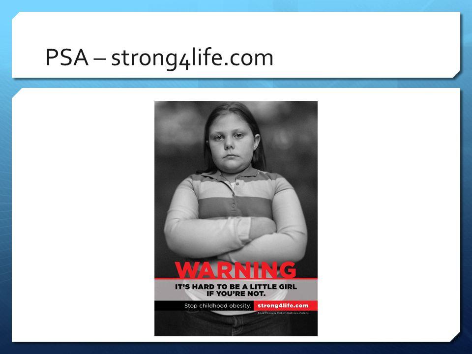 PSA – strong4life.com