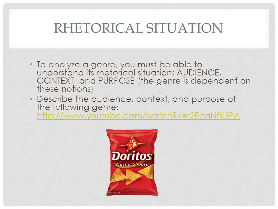 Rhetorical situation