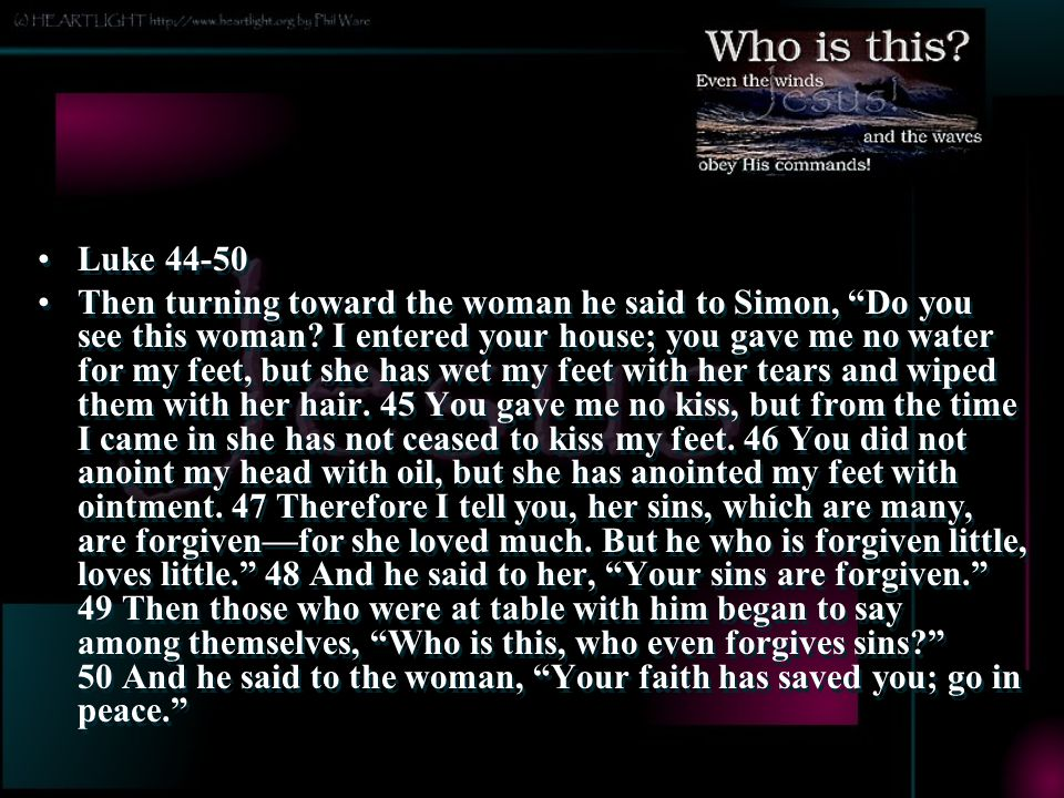 Luke 44-50