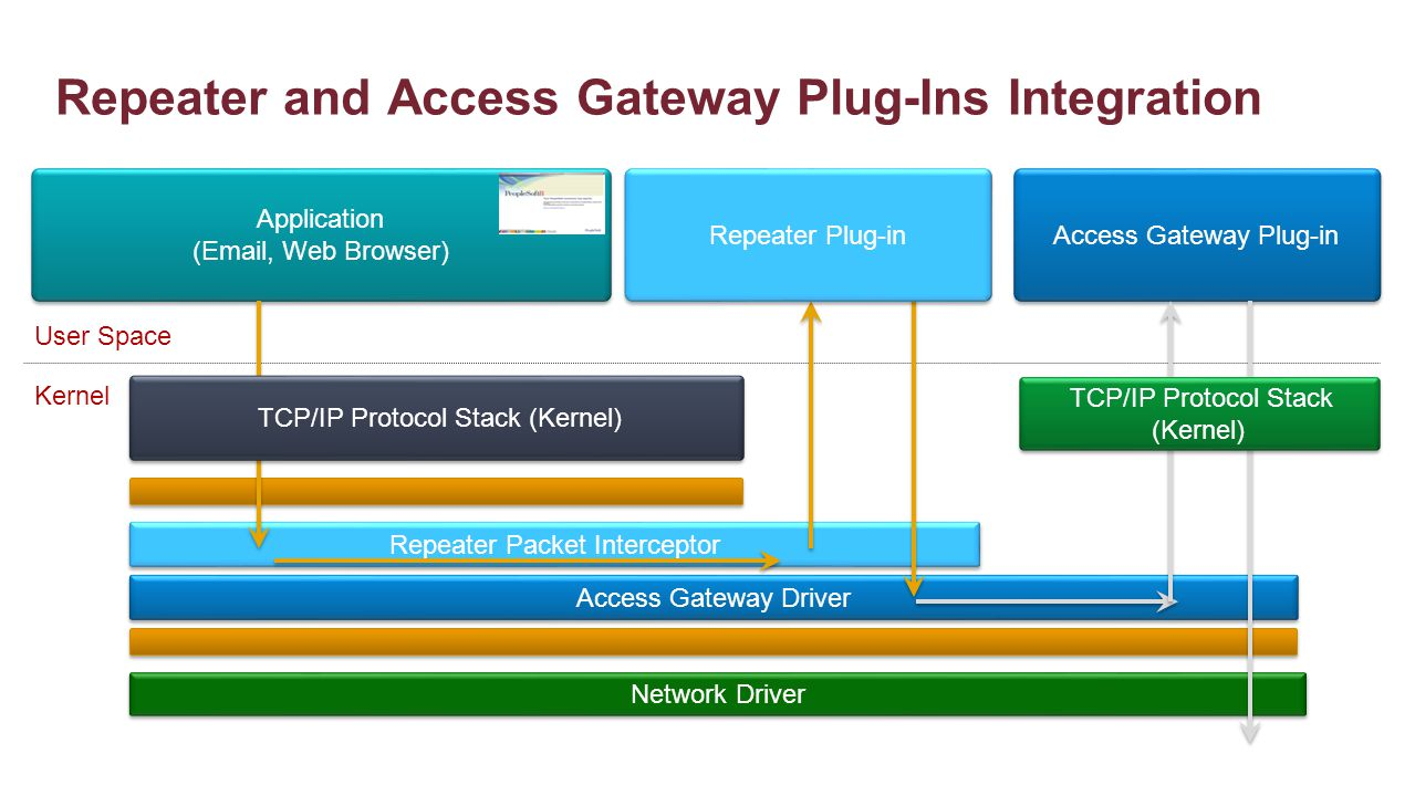Repeater and Access Gateway Plug-Ins Integration