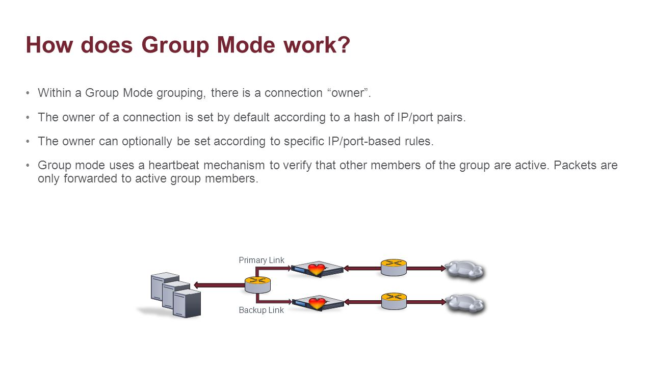 How does Group Mode work
