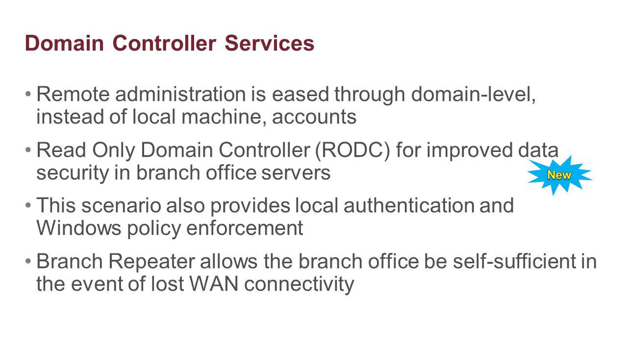 Domain Controller Services