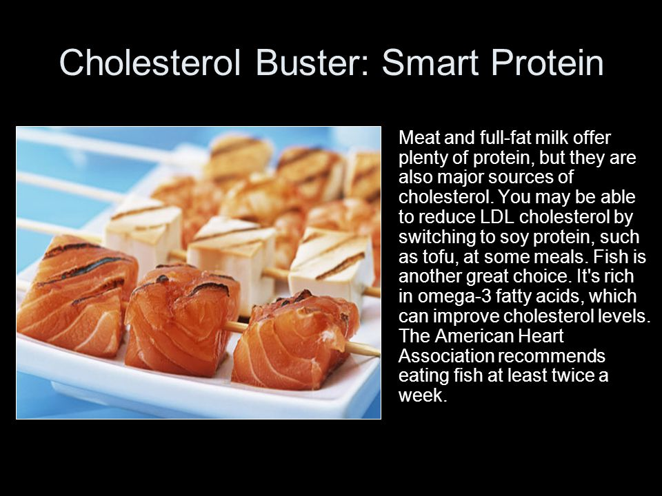 Cholesterol Buster: Smart Protein