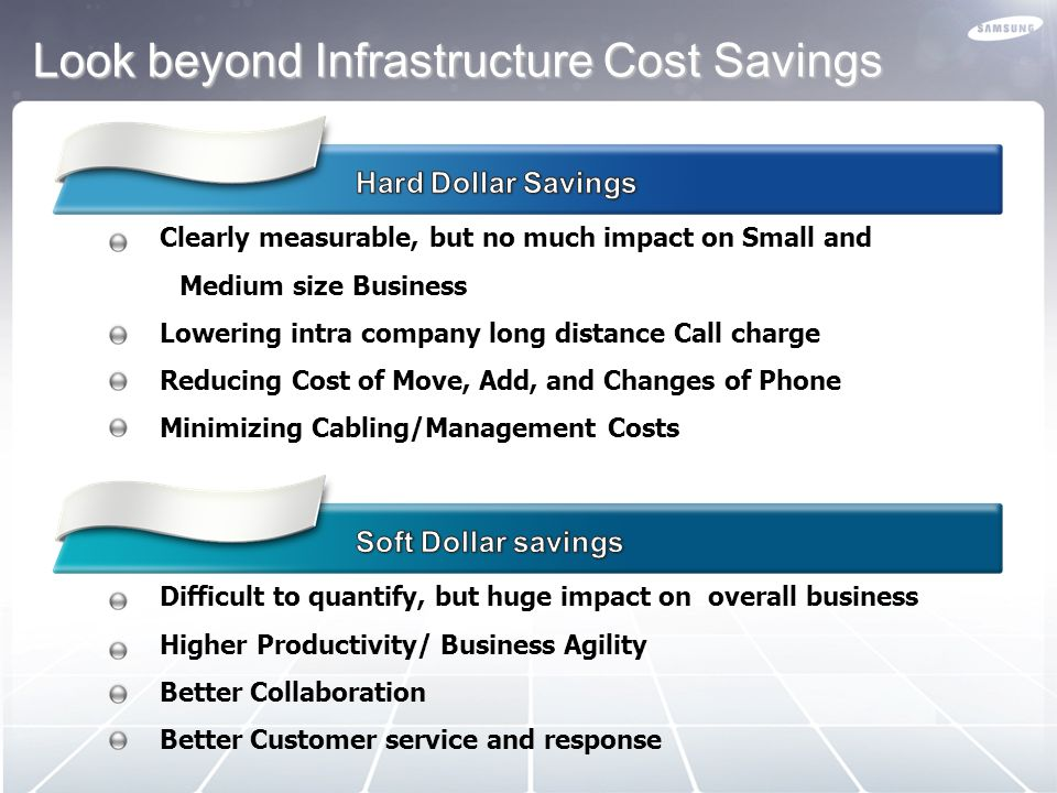 Look beyond Infrastructure Cost Savings
