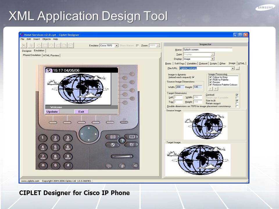 XML Application Design Tool