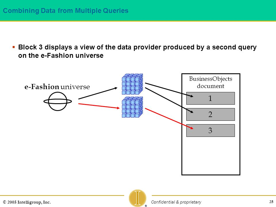 Combining Data from Multiple Queries