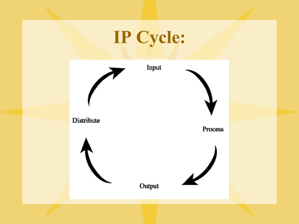 IP Cycle:
