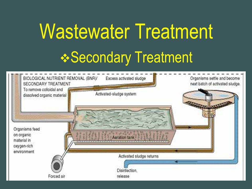 Wastewater Treatment Secondary Treatment