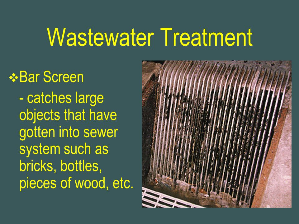 Wastewater Treatment Bar Screen