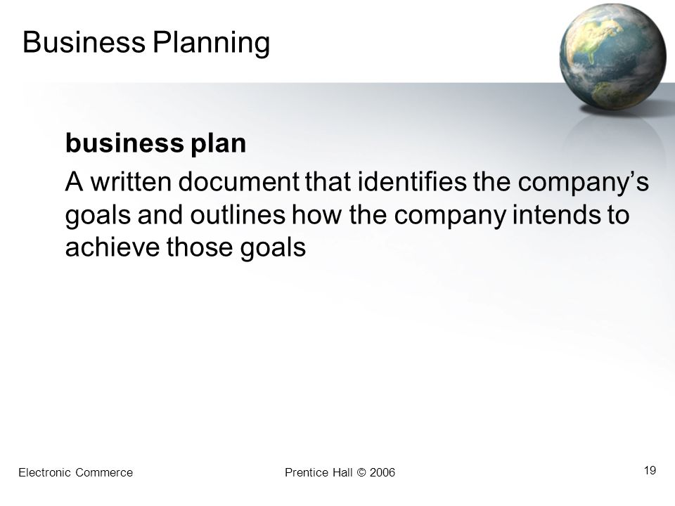 Business Planning business plan