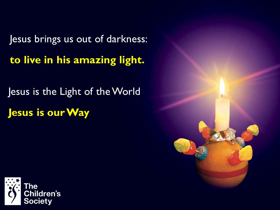 Jesus brings us out of darkness: