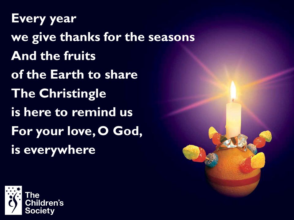 we give thanks for the seasons And the fruits of the Earth to share