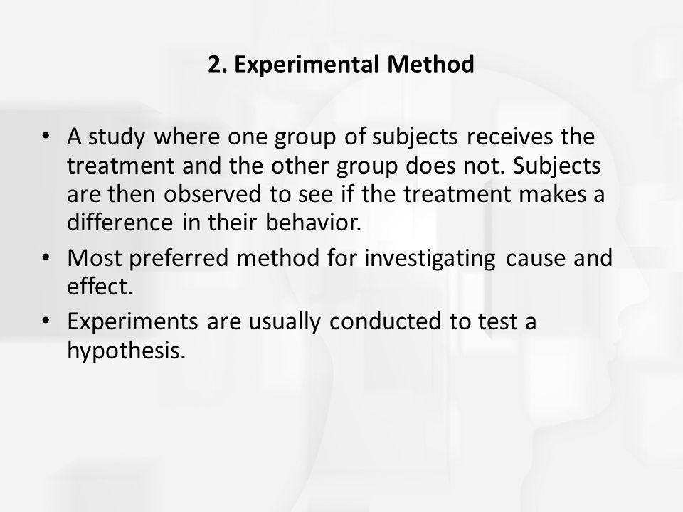 2. Experimental Method