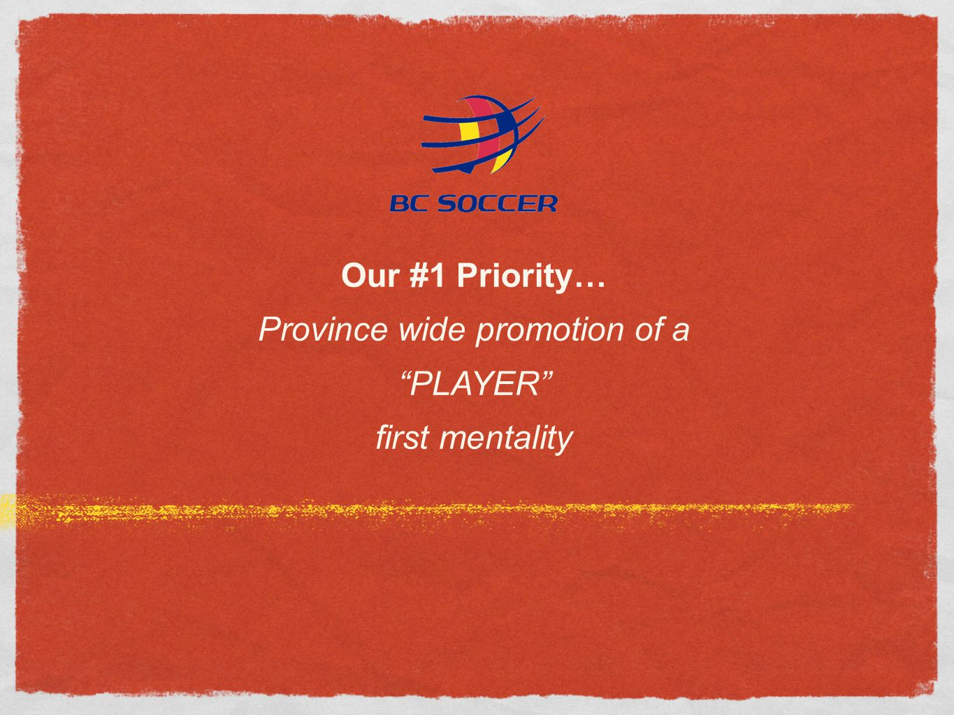 Province wide promotion of a