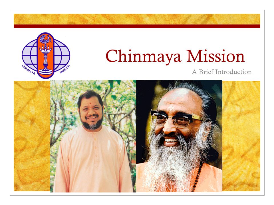 Chinmaya Mission A Brief Introduction