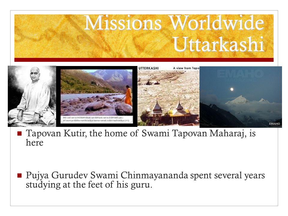 Missions Worldwide Uttarkashi