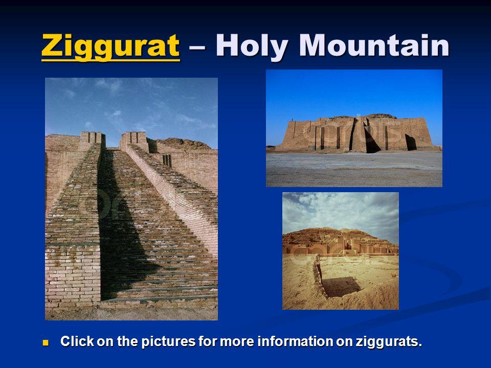 Ziggurat – Holy Mountain