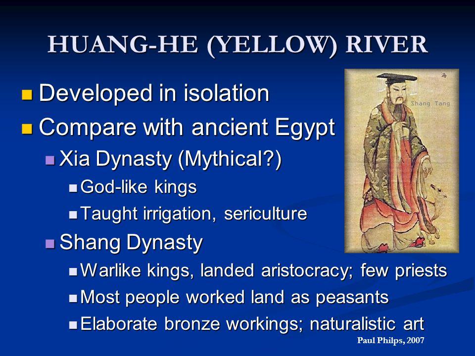 HUANG-HE (YELLOW) RIVER