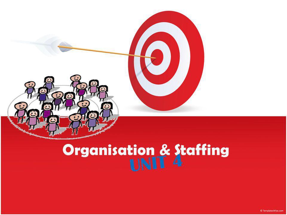 Organisation & Staffing