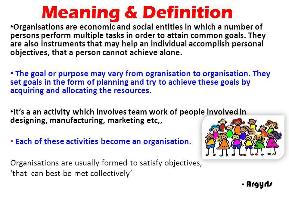 Meaning & Definition