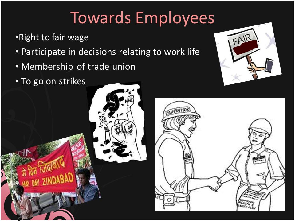 Towards Employees Participate in decisions relating to work life