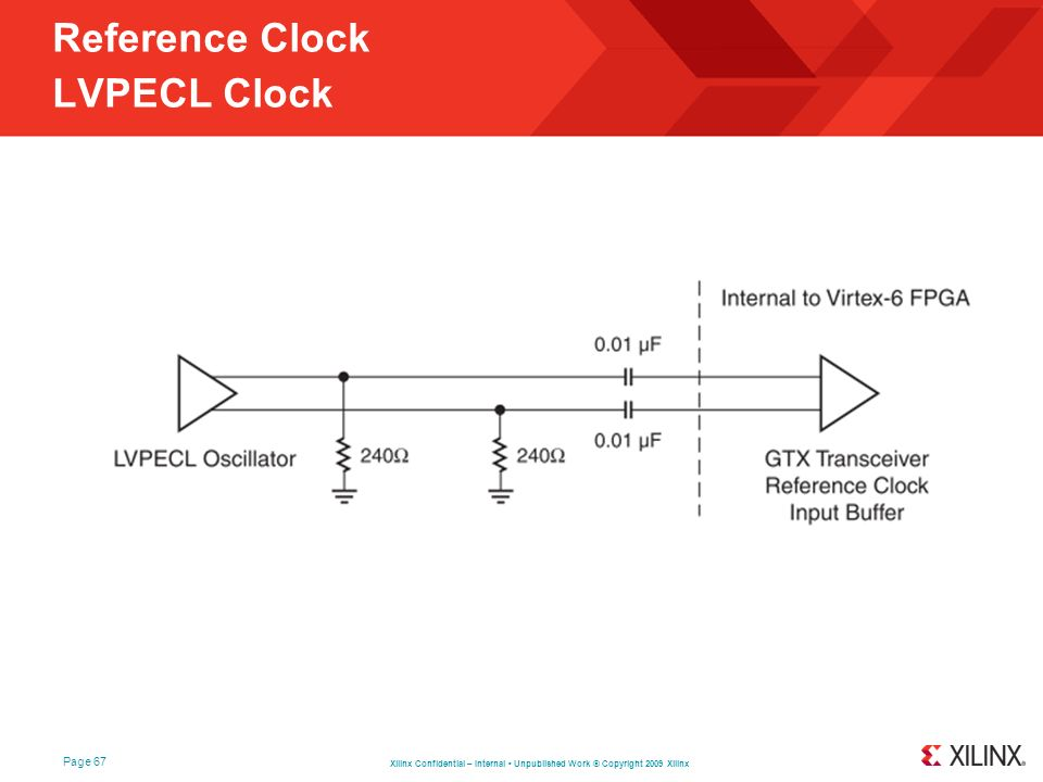 Reference Clock LVPECL Clock