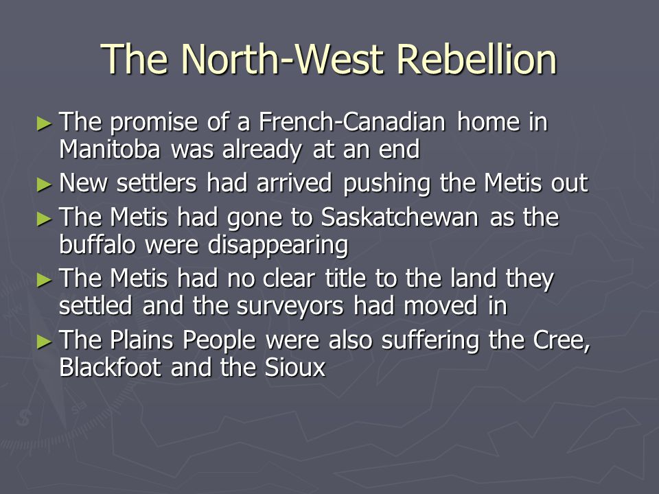 The North-West Rebellion